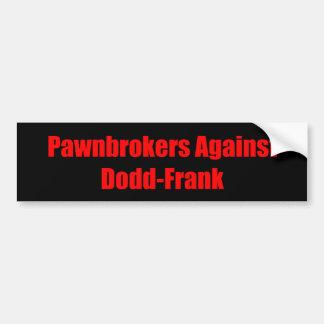 Doddフランクのバンパーステッカー バンパーステッカー