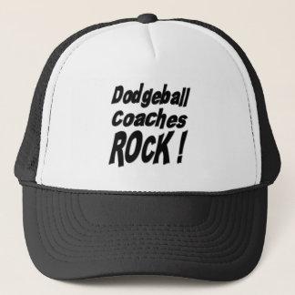 Dodgeballは石をコーチします! 帽子