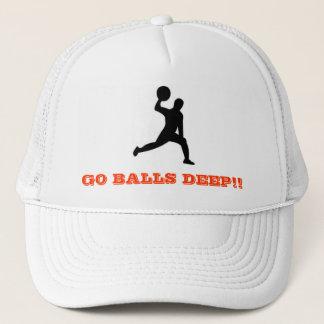 dodgeballは、球深い行きます!! キャップ