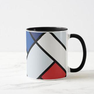 Doesburg -不調和のに対構成 マグカップ