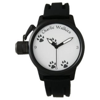 Dog Footprints Template 腕時計
