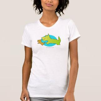 Dog T-Shirt伯母さん Tシャツ