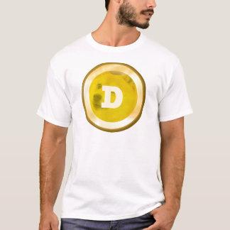 DogecoinのTシャツ Tシャツ