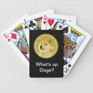 Dogecoinカード バイスクルトランプ