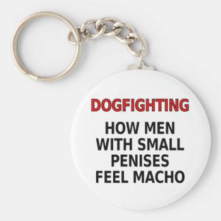 Dogfighting: 小さい陰茎を搭載する人がたくましい男性をいかに感じるか キーホルダー