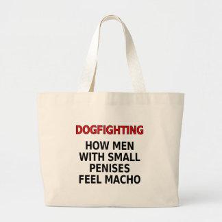 Dogfighting: 小さい陰茎を搭載する人がたくましい男性をいかに感じるか ラージトートバッグ