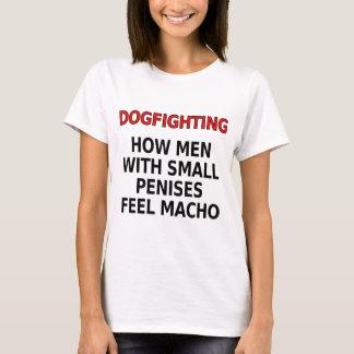 Dogfighting: 小さい陰茎を搭載する人がたくましい男性をいかに感じるか tシャツ