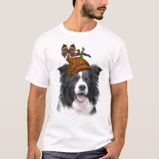 Dogs~Original Ditzy Tee~Border Collie~Earth日 Tシャツ