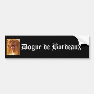Dogue de Bordeauxのバンパーステッカー バンパーステッカー