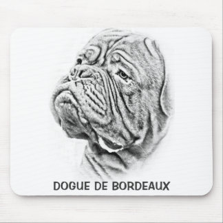 Dogue De Bordeaux -フランスのなマスティフ マウスパッド