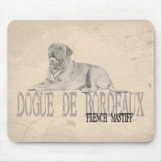 Dogue de Bordeaux マウスパッド
