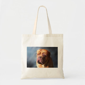 Dogue de Bordeaux Art -嵐のDogue トートバッグ