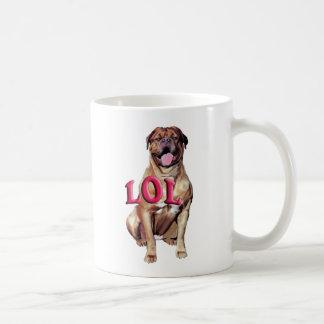 Dogue de Bordeaux LOL コーヒーマグカップ