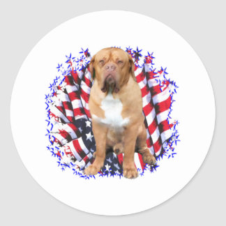 Dogue de Bordeaux Patriot ラウンドシール