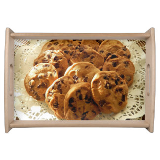 Doilyのクッキー トレー