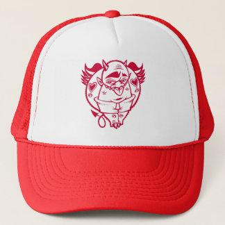 DOLLAの赤い悪魔の帽子 キャップ