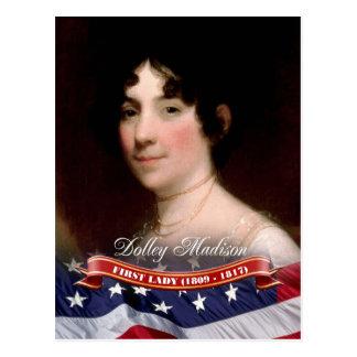 Dolleyマディソンの米国の最初女性 ポストカード