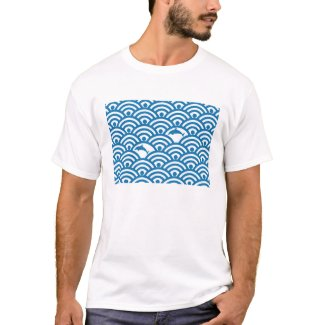 dolphins on wi-fi waves tシャツ