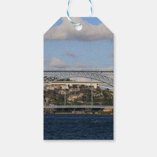 Dom Luis I橋、ポルト、ポルトガル ギフトタグ