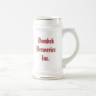 Dombek Breweries Inc.のよいビールf… -カスタマイズ ビールジョッキ