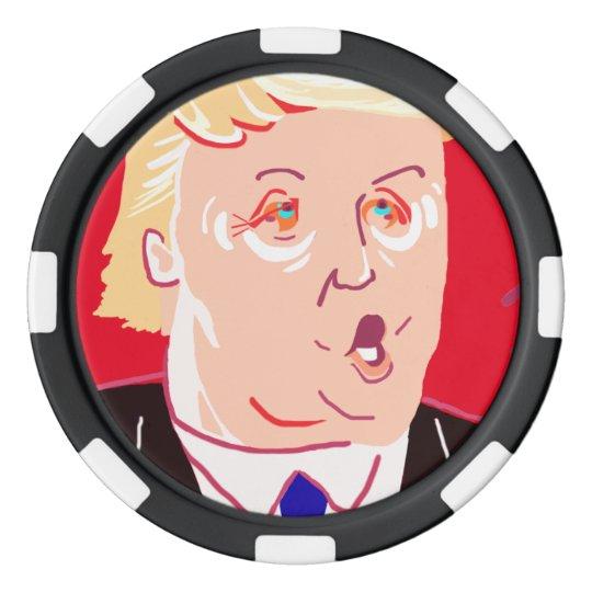 Donald Trump ポーカーチップ