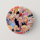 Donald Trump.45th President of the U.S.A. 缶バッジ