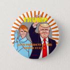 Donald Trump & Melania.President of the U.S.A. 缶バッジ