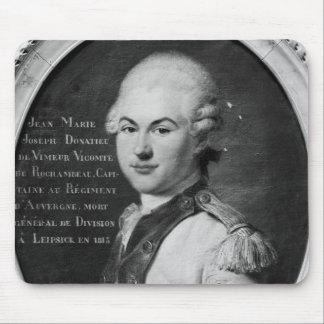 Donatien Marieヨセフde Vimeur マウスパッド