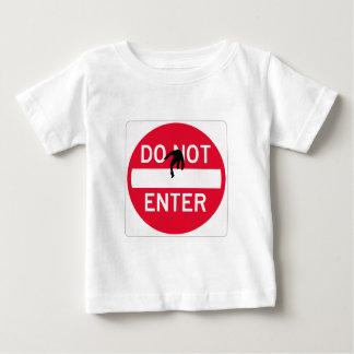 donotentermean ベビーTシャツ