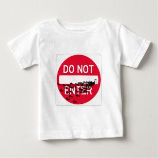 donotenterspread ベビーTシャツ