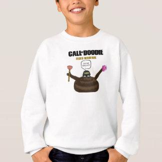 Doodieの子供のHanes ComfortBlendのスエットシャツの呼出し スウェットシャツ