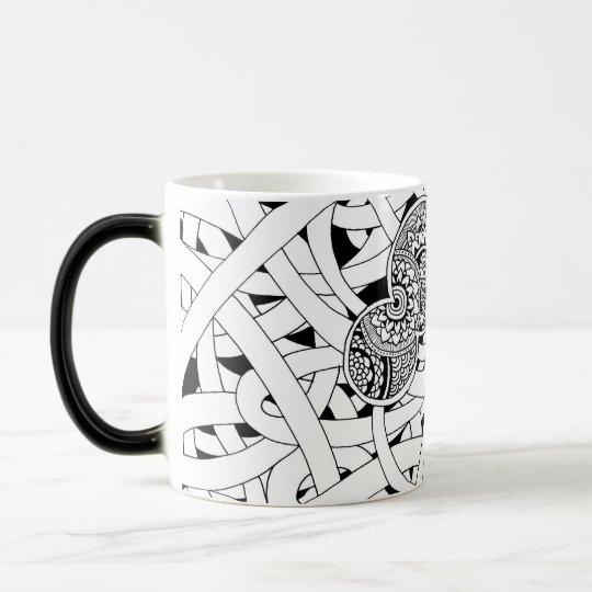 DOODLED モーフィンマグカップ マジックマグカップ