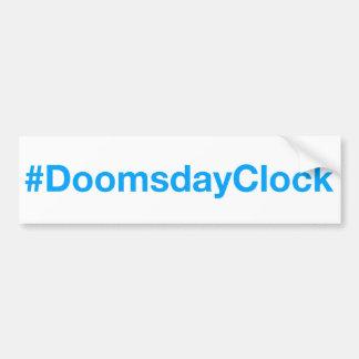 #DoomsdayClock バンパーステッカー