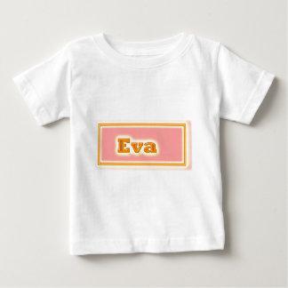 DOONAGIRIのエレガントな文字 ベビーTシャツ