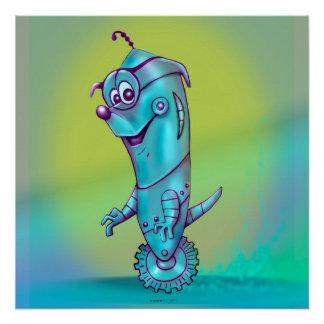 DOOPPEYのロボット外国の漫画の完全なポスター ポスター