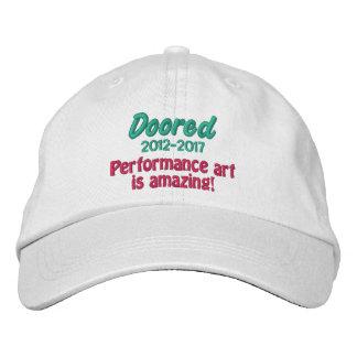 Doored 2012-2017の記念する帽子 刺繍入りキャップ