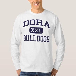 Dora -ブルドッグ- Doraの高等学校- Doraアラバマ Tシャツ