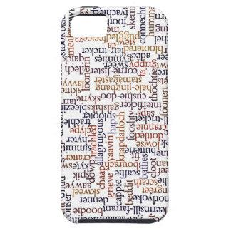 Doric単語の地図 iPhone SE/5/5s ケース
