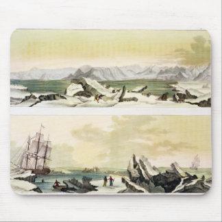 「Dorothea」を持つスピッツベルゲン島の眺め(色en マウスパッド