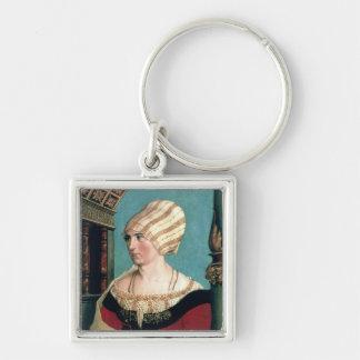 Dorothea Kannengiesser 1516年(limewoodのテンペラ) キーホルダー