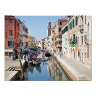 Dorsodoro、Venezia ポスター