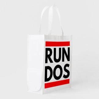 DOSを走って下さい エコバッグ