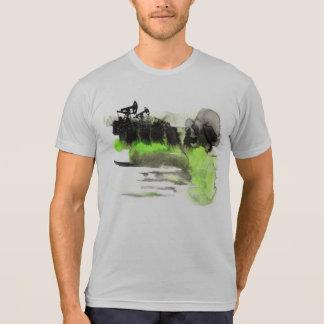 "DottiDotの独占的なTシャツ""油"" Tシャツ"