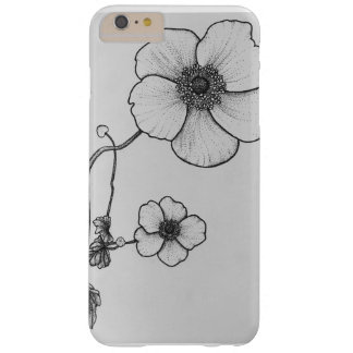 Dotworkのアネモネの花の電話箱 Barely There iPhone 6 Plus ケース