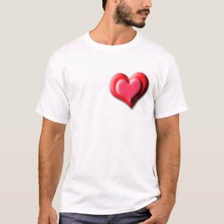 doubleheart tシャツ