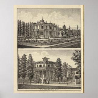 Doughertyのマーフィーの住宅 ポスター