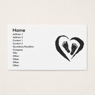 Doulaの助産婦の名刺 名刺