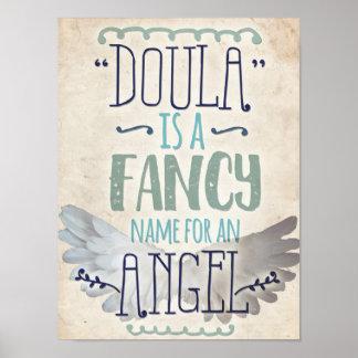 Doulaは天使です ポスター