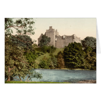 Douneの城、スターリング、スコットランド カード
