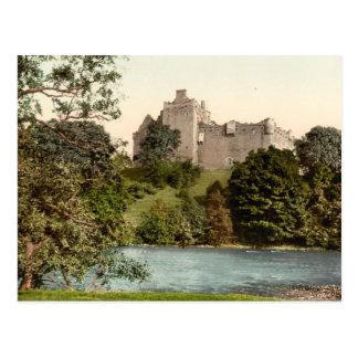 Douneの城、スターリング、スコットランド ポストカード